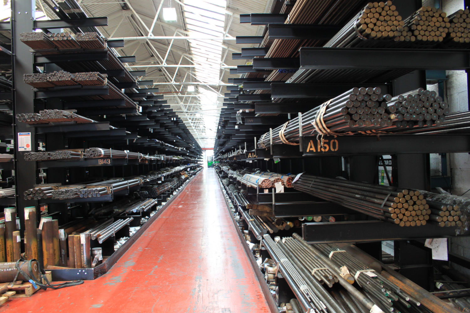 Hydrobolt Cantilever Racking Wickens