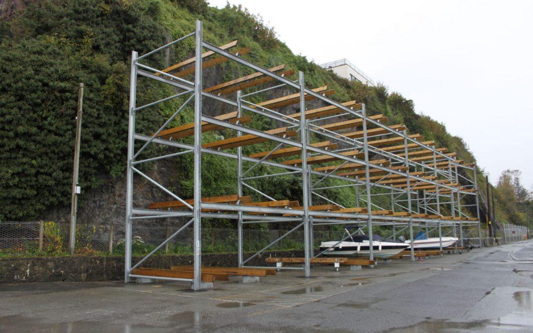Saundersfoot Harbour – Dry Stack