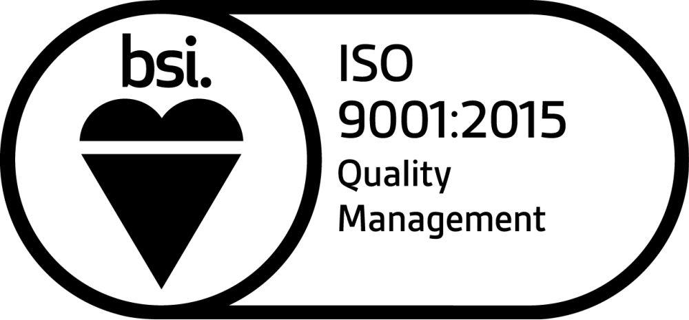 ISO 9001:2015 Quality management logo