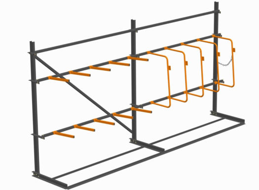 vertical racking drawing