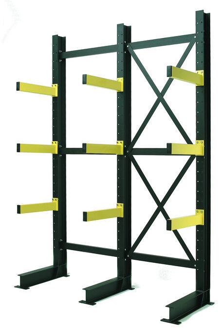 cantilever racking design drawing