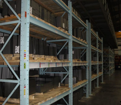 Heavy Duty Racking with timber decks