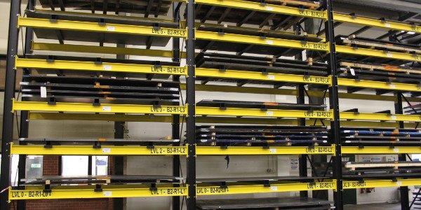 Image button to Sheet Metal Storage racking page